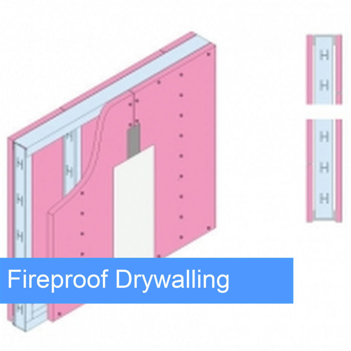 fireproof drywall