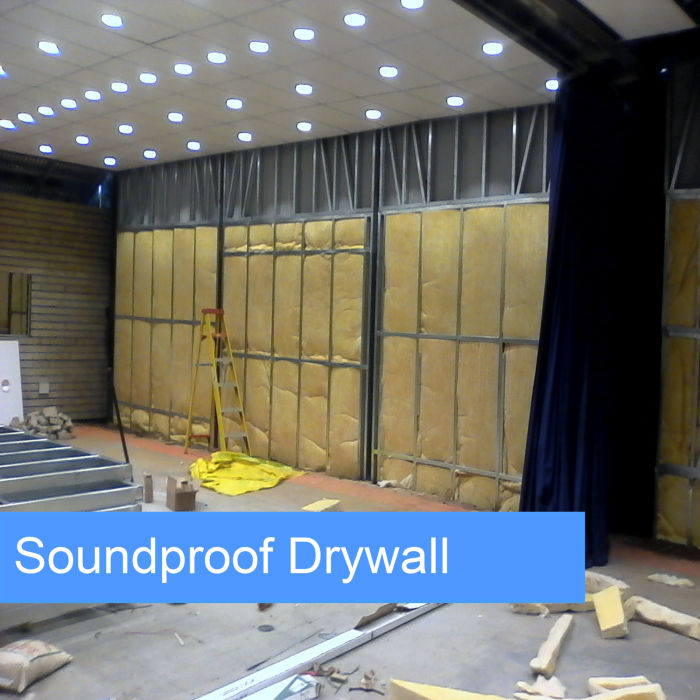 soundproof drywalling
